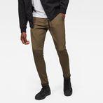 G-Star RAW® Bronson Skinny Chino Brown model front
