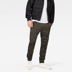 G-Star RAW® Rackam Straight Tapered Cuffed Pant Grey model front