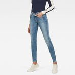 G-Star RAW® Lynn D-Mid Waist Super Skinny Jeans Light blue