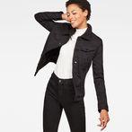 G-Star RAW® 3301 Slim Sherpa Jacket Black model front