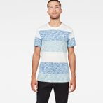 G-Star RAW® Brallio T-Shirt Blue model front