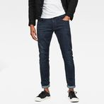 G-Star RAW® 3301 Deconstructed Skinny Jeans Dark blue
