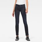 G-Star RAW® Midge Saddle Mid Waist Straight Jeans Dark blue