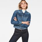 G-Star RAW® D-Staq Dc Denim Jacket Dark blue model front