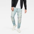 G-Star RAW® Motac Deconstructed 3D Slim Jeans Light blue