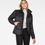 G-Star RAW® Whistler Quilted Slim Jacket Black model front
