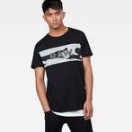 G-Star RAW® Tairi T-Shirt Black model front