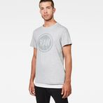 G-Star RAW® Art#6 T-Shirt Grey model front