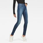 G-Star RAW® 3301 Deconstructed High Waist Skinny Jeans Medium blue