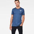 G-Star RAW® Polyca Slim T-Shirt Dark blue model front
