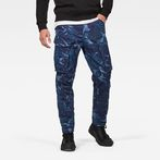 G-Star RAW® Rovic 3D Straight Tapered Pants Dark blue model front