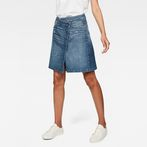 G-Star RAW® Arc Wrap Skirt Medium blue