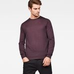 G-Star RAW® Core Knit Purple model front