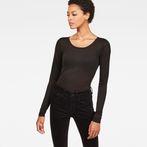 G-Star RAW® Hika Slim T-Shirt Black model front