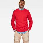 G-Star RAW® Core Knit Red model front