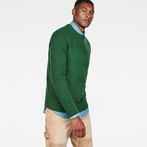G-Star RAW® Core Knit Green model front