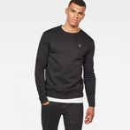 G-Star RAW® Motac-X Sweat Black model front