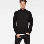 G-Star RAW® Suzaki Jirgi Zip Through Black model front