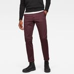 G-Star RAW® Bronson Slim Chino Purple model front