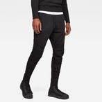 G-Star RAW® Motac-X Straight Tapered Sweat Pants Black model front
