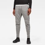G-Star RAW® Motac-X Straight Tapered Sweat Pants Grey model front