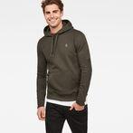 G-Star RAW® Motac-X Hooded Sweat Grey model front