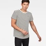 G-Star RAW® Starkon Stripe T-Shirt White model front