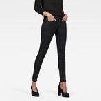 G-Star RAW® Lynn D-Mid Waist Super Skinny Jeans Black