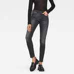 G-Star RAW® G-Star Shape High Waist Super Skinny Jeans Grey