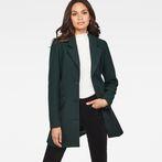 G-Star RAW® Minor SB Wool Coat Green model front