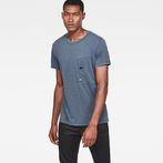 G-Star RAW® Stalt New Regular T-Shirt Medium blue model front