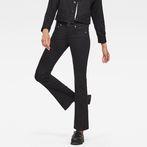 G-Star RAW® Midge Saddle Mid Waist Skinny Bootcut Jeans Dark blue