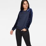 G-Star RAW® Kikko Xzula Sweat Dark blue model front