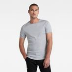 G-Star RAW® Base Round Neck T-Shirt 2-Pack Grey model front