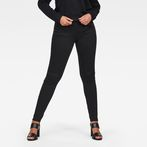 G-Star RAW® 5622 G-Star Shape High Waist Super Skinny Jeans Black