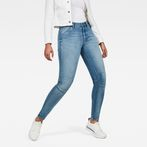 G-Star RAW® 5622 G-Star Shape High Waist Super Skinny Jeans Medium blue