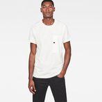 G-Star RAW® Stalt New Regular T-Shirt Beige model front