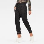 G-Star RAW® Army Radar Strap Relaxed Pants Black model front