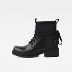 G-Star RAW® Deline Sock Boot Black side view