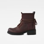 G-Star RAW® Deline Sock Boot Red side view