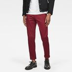 G-Star RAW® Bronson Slim Chino Red model front