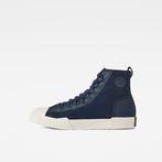 G-Star RAW® Rackam Scuba Mid Sneakers Medium blue side view