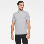 G-Star RAW® Dunda Slim Polo Grey model front