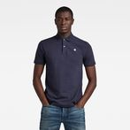 G-Star RAW® Dunda Slim Polo Dark blue model front