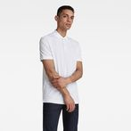 G-Star RAW® Dunda Slim Polo White model front