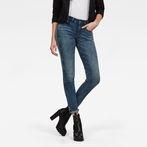 G-Star RAW® 3301 Deconstructed Mid Waist Skinny Jeans Medium blue