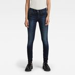 G-Star RAW® Lynn Mid Waist Skinny Jeans Medium blue