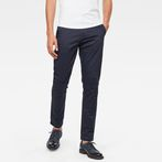 G-Star RAW® Bronson Slim Chino Dark blue model front