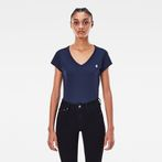 G-Star RAW® Eyben Slim T-Shirt Dark blue model front