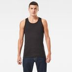 G-Star RAW® Base Tanktop 2-Pack Black model front